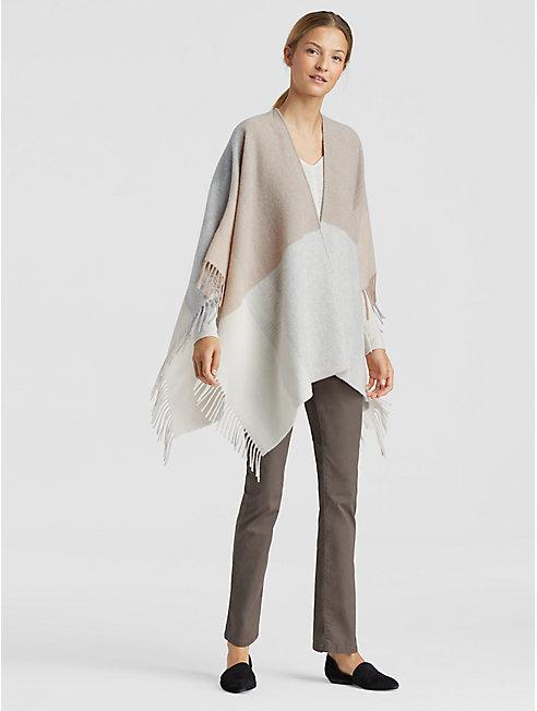 Color-Block Wool Serape