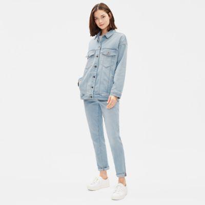 Organic Cotton Boyfriend Denim Jacket