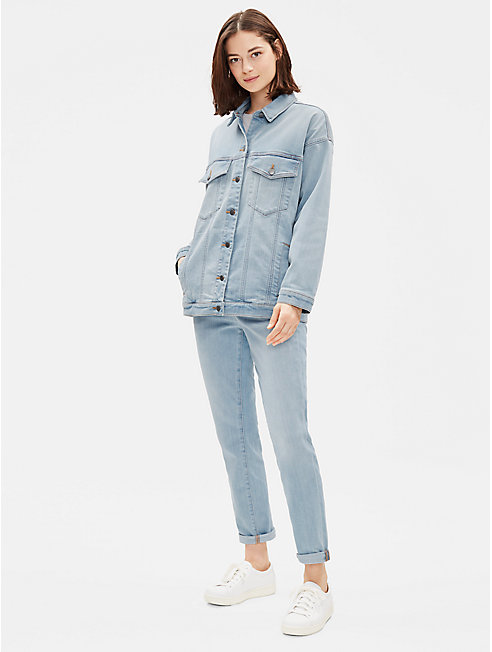Organic Cotton Boyfriend Denim Jacket