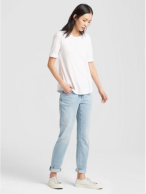 Organic Cotton Stretch Boyfriend Jean
