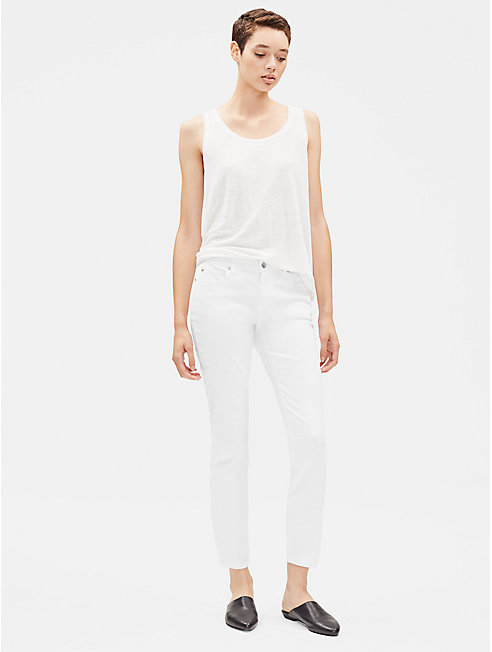 System Organic Cotton Slim Ankle Jean