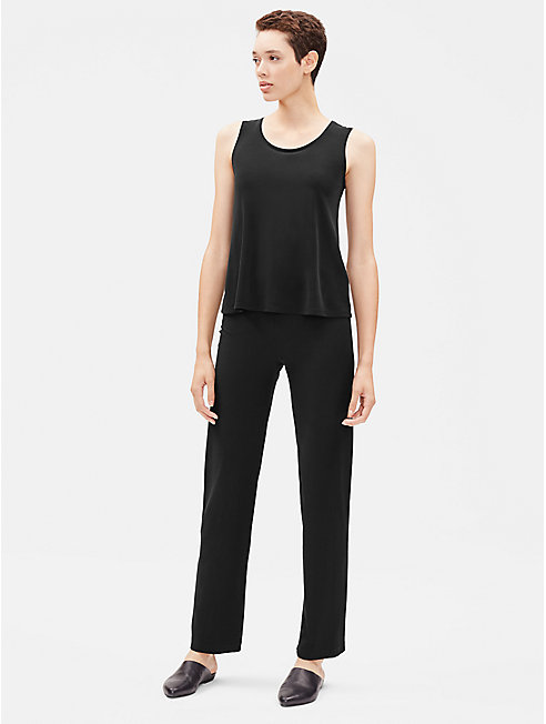 System Stretch Crepe Straight Pant