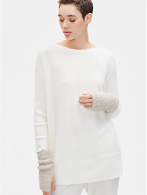 Knit Furry Glovelettes