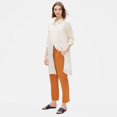 Organic Cotton Gauze Shirt Dress