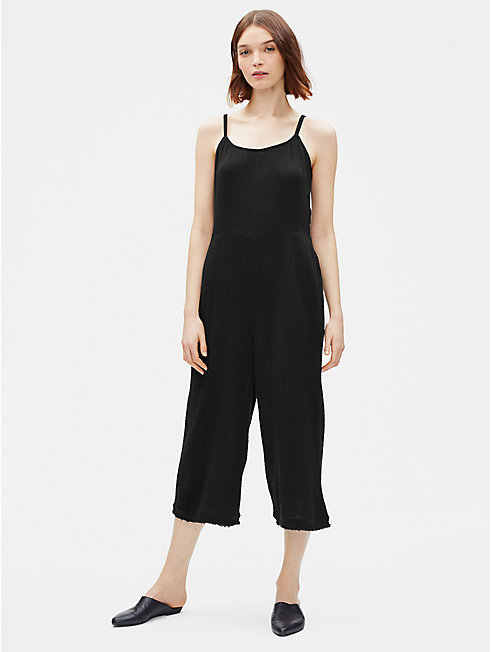 Organic Cotton Gauze Jumpsuit
