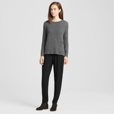 Merino High-Low Box-Top