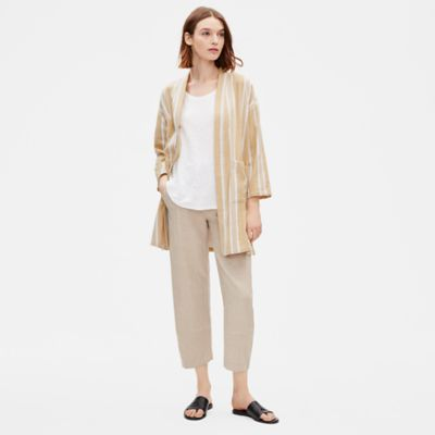 Striped Organic Cotton Jacket