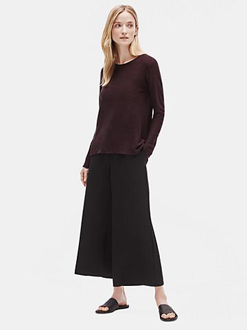 Organic Linen Knit Tunic