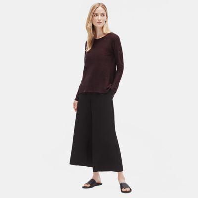 Organic Linen Knit Top