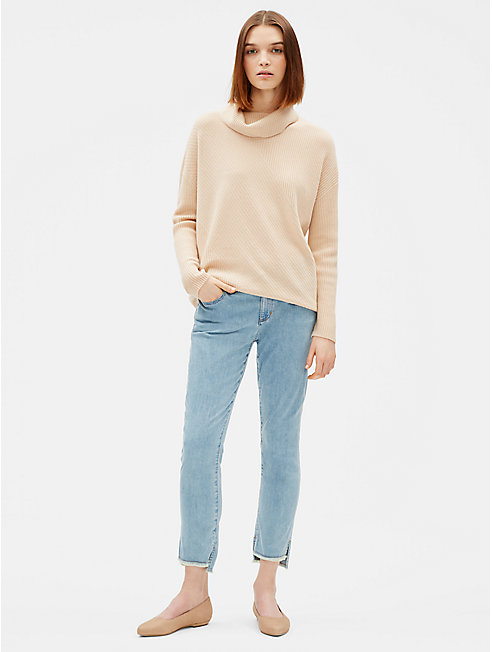 Organic Cotton Stretch Slim Ankle Jean