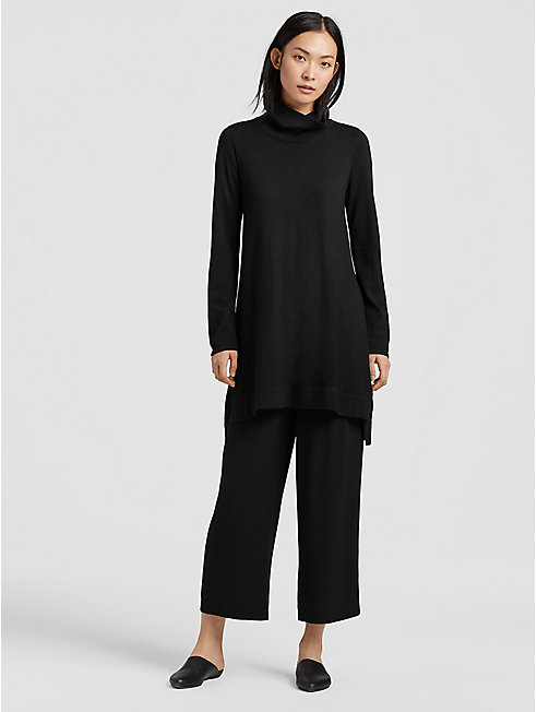 Merino Turtleneck Layering Dress