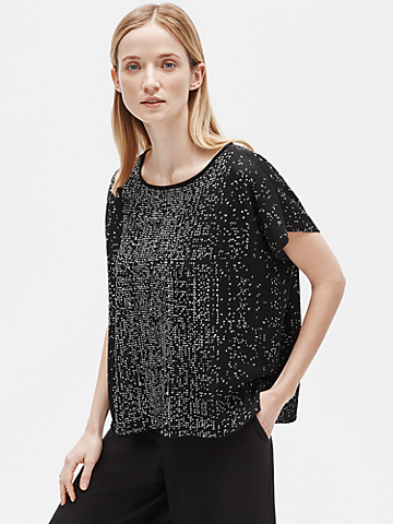 Sleek Tencel Bateau Neck Top