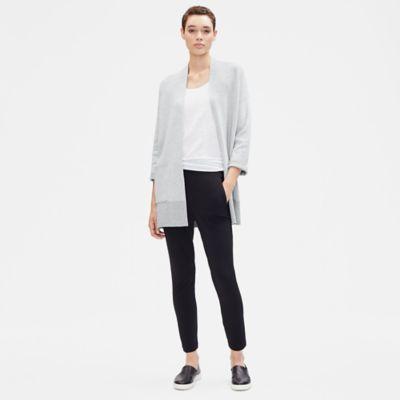 Reversible Organic Cotton Cashmere Cardigan