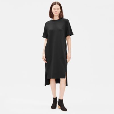 Organic Cotton Jersey Short-Sleeve Dress