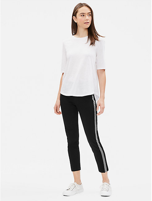 Organic Cotton Stretch Slim Pant
