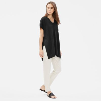 Organic Linen Cotton Slub Tunic