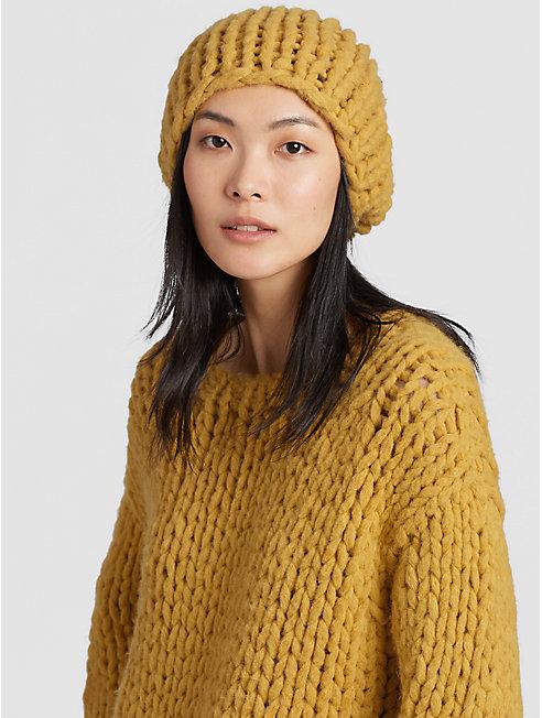 Handknit Peruvian Alpaca Hat