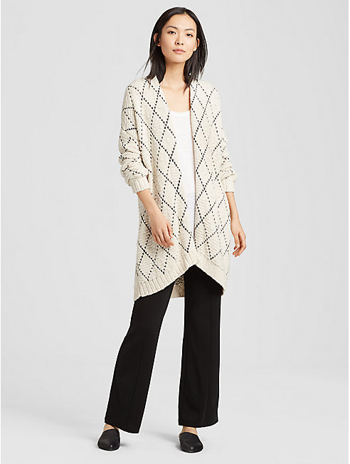 Peruvian Organic Cotton Cardigan