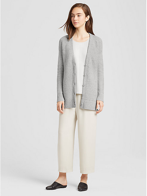 Lofty Recycled Cashmere Cardigan