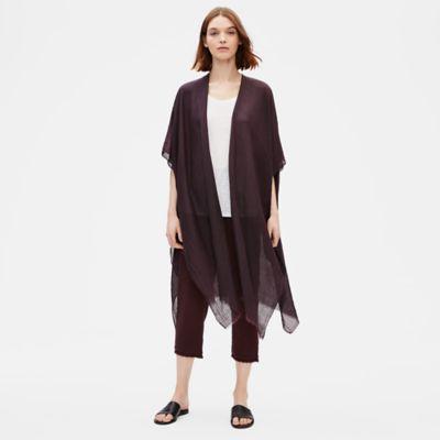 Organic Cotton Silk Caftan