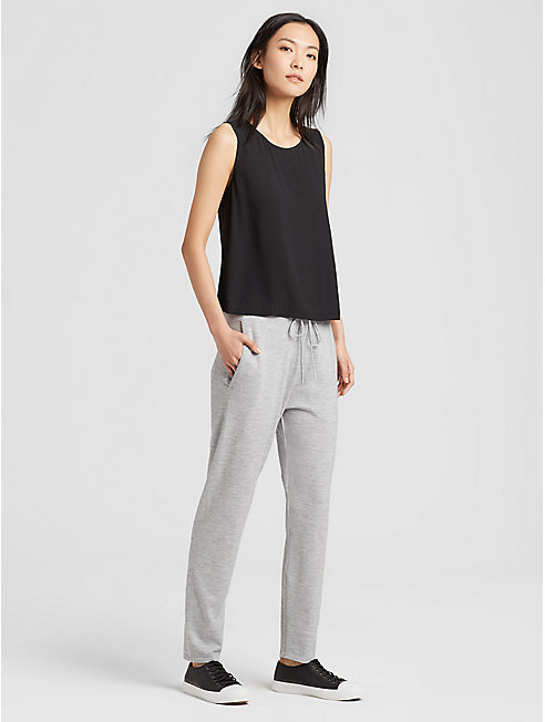 Luxe Merino Stretch Drawstring Pant