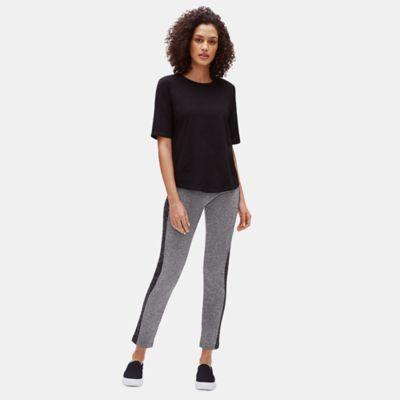 Stretch Tweed Slim Pant