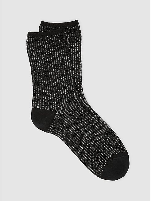Shimmer Stripe Sock