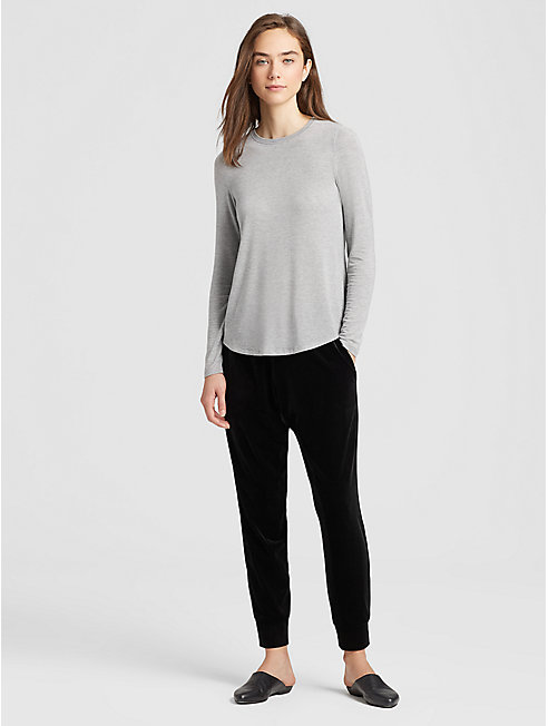 Tencel Cashmere Slim Top