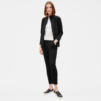 Flex Tencel Ponte Zip Jacket