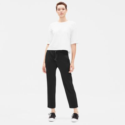 Travel Ponte Drawstring Pant