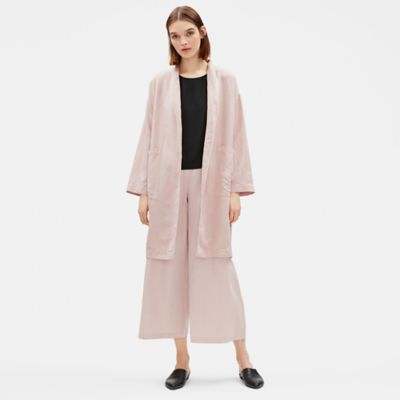 Tencel Linen Long Jacket