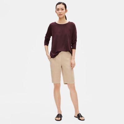 Tencel Linen Shorts