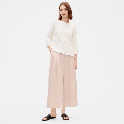 Tencel Linen Wide-Leg Trouser