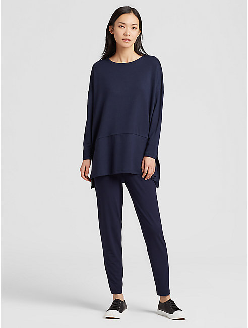 Tencel Terry Oversized Tunic