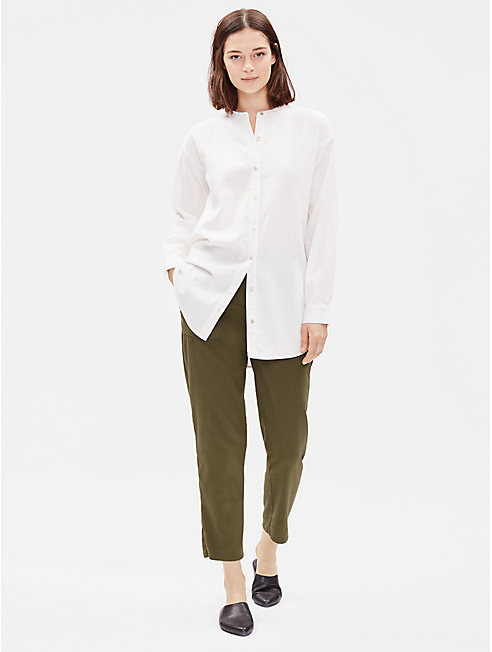 Soft Organic Cotton Twill Pant