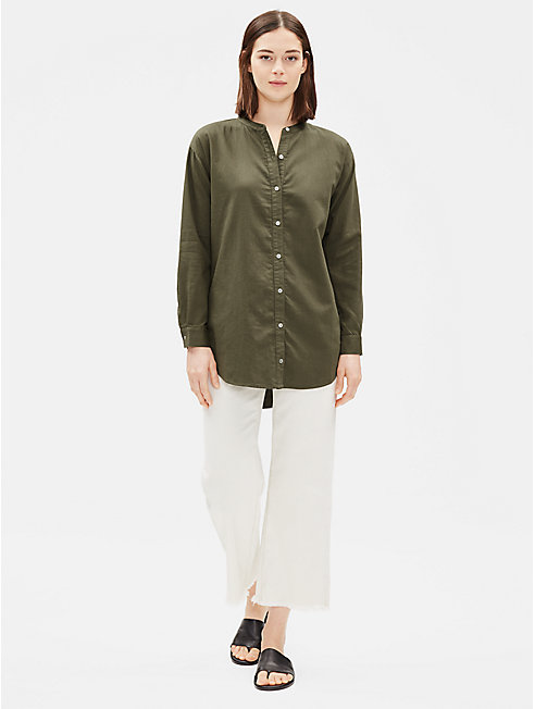 Soft Organic Cotton Twill Shirt