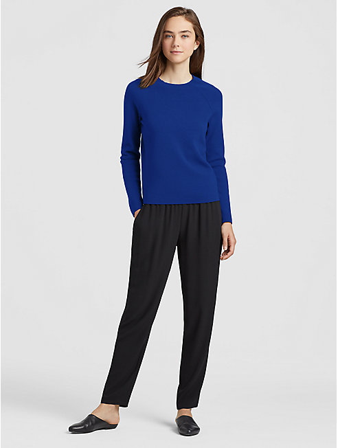 Luxe Merino Stretch Slim Top