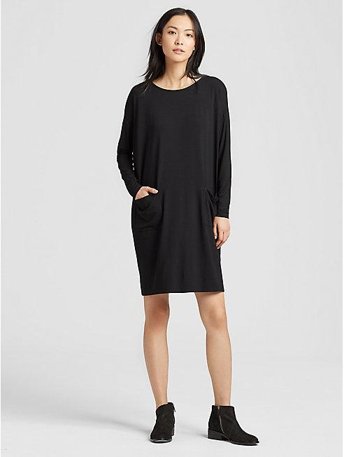 Viscose Jersey Pocket Dress