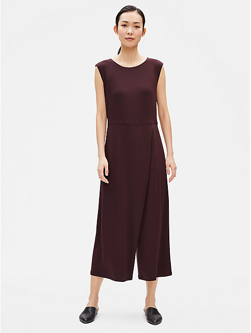 Lightweight Viscose Jersey Jumpsuit