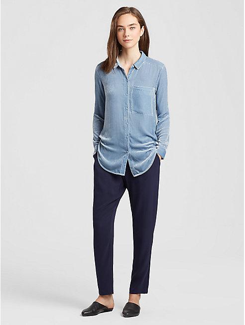 Velvet Classic Collar Shirt