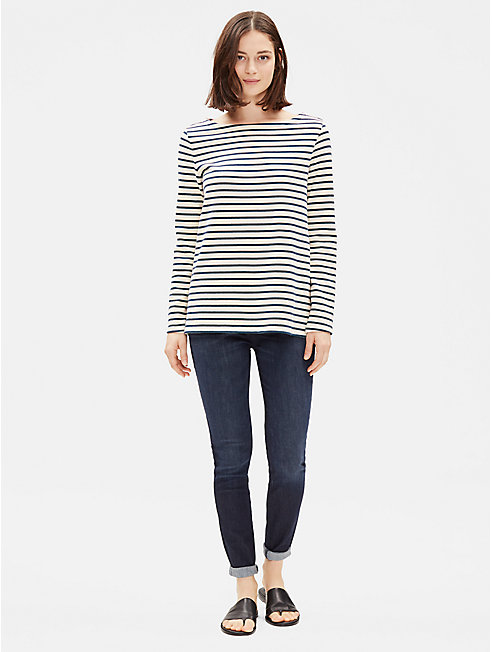 Organic Cotton Striped Top