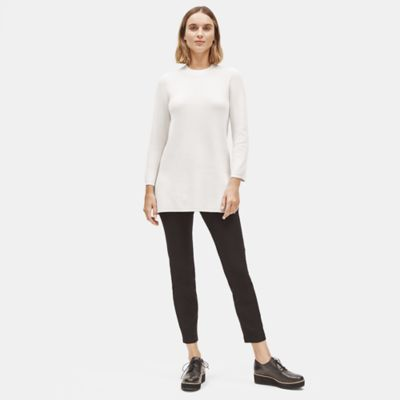 Silk Organic Cotton Textured Tunic