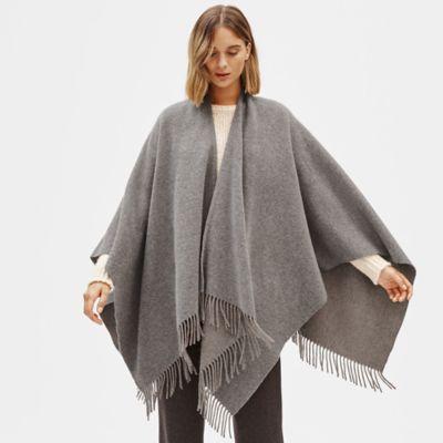 Brushed Wool Cashmere Serape