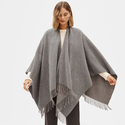 Brushed Wool Cashmere Serape