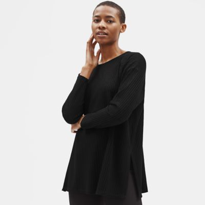 Tencel Stretch Rib Tunic