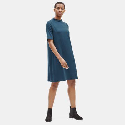 Tencel Jersey Shift Dress