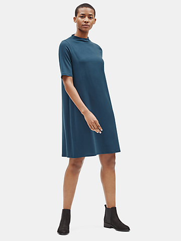 Tencel Jersey Shift Dress