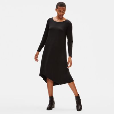 Tencel Jersey Asymmetrical Dress