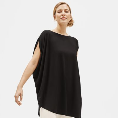 Tencel Jersey Asymmetrical Tunic