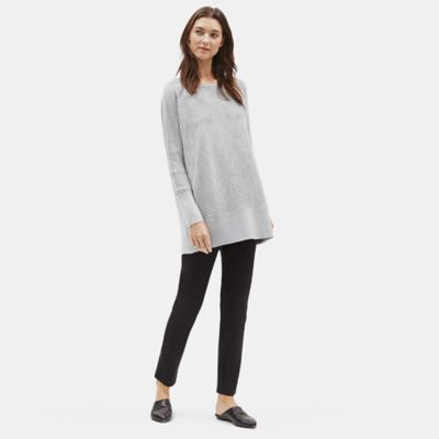 Luxe Merino Stretch Tunic in Responsible Wool